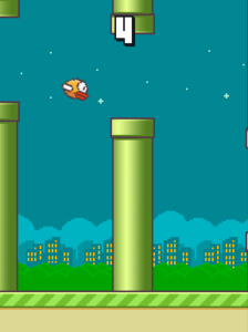 Approaching My Personal High Score...stupid bird...always flapping....