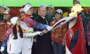 Uncle Vlad Teaches Proper Use of Klingon Bat'leth for Torch Lighting. Because He's Clearly Not Completely Fucking Crazy.